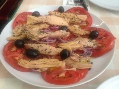 perejil tomates